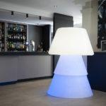 Luminaire design pour décoration d'un restaurent